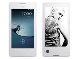 Smartphone a doppio schermo