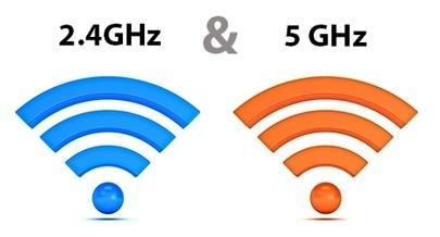 Wifi 2.4GHz e 5GHz